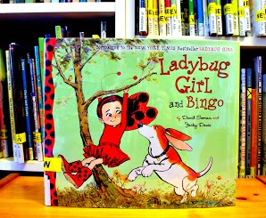 Lady Bug Girl and Bingo