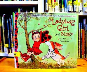 Lady Bug Girl and Bingo