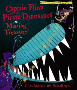 Captain Flinn and the Pirate Dinosaurs Missing Treasure
