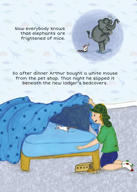 From Arthur and the Elephant © 2014 Fiona Campbell and Laura Vann.  Images Courtesy Fiona Campbell.