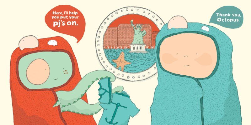 Thank You, Octopus by Darren Farrell. Images Courtesy of Darren Farrell.