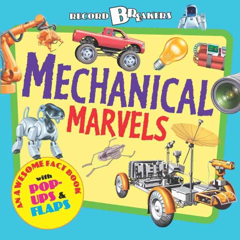 Record Breakers Mechanical Marvels Cover (1)