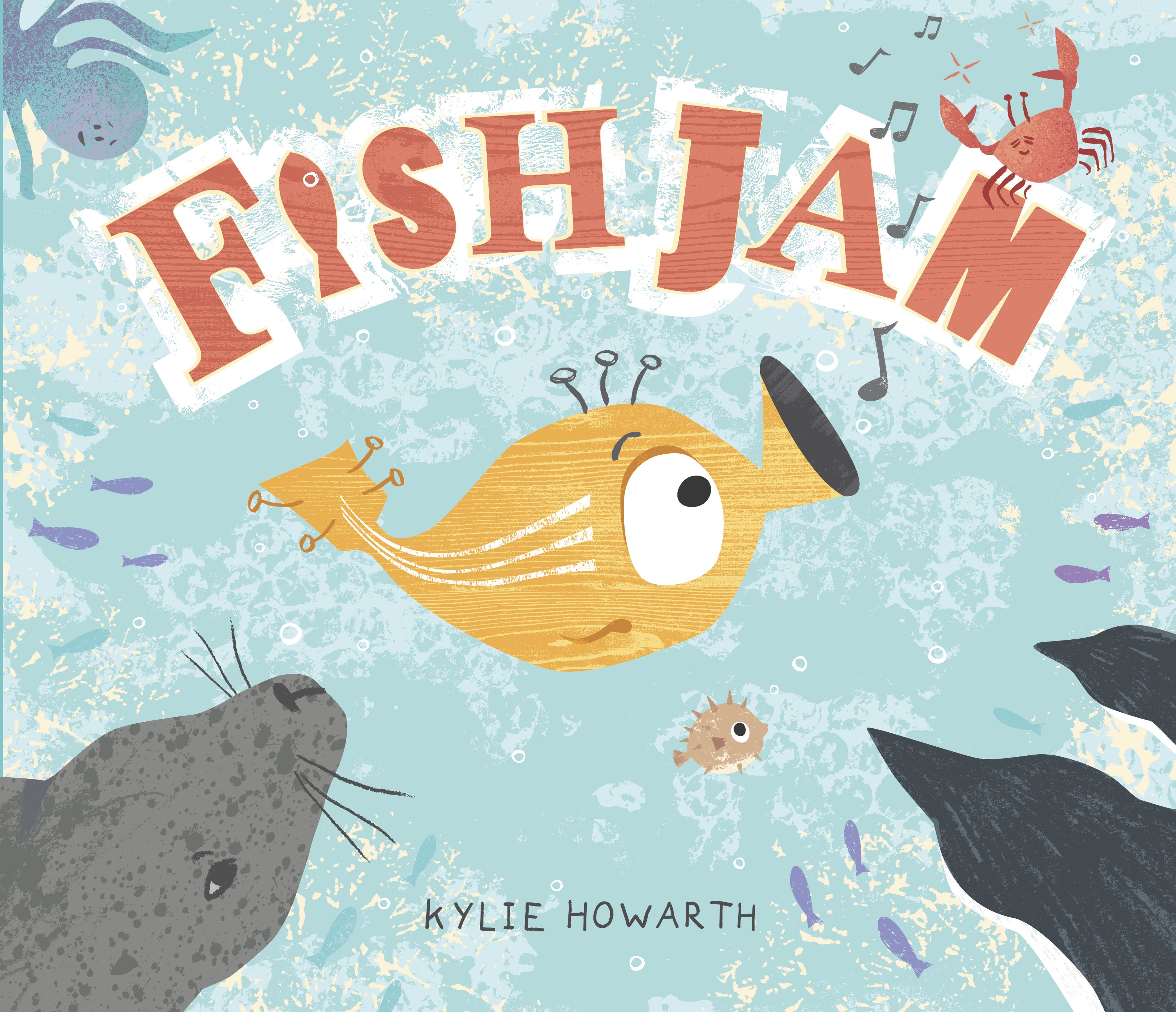 Fish jam by kylie howarth the picture book review for Fish children s book