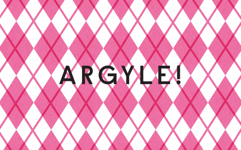 Argyle 2 First Book of Patterns